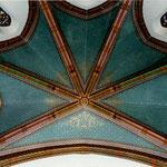 Eglise de Sana - 31 - Restauration des peintures en voute du choeur