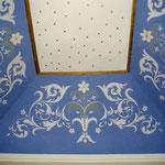 Plafond d'une chapelle en voute - Eglise de Gaujan - 32