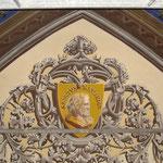 Eglise de Plaisance du touch - 31 - Restauration des médaillons en voute - En collaboration pour Claudie Thomas.