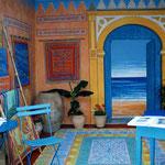 Stand Mahaut Kayanakis - Salon Vivre Côté Sud - Saint Tropez