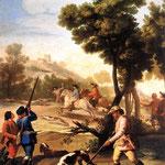 La Partie de Chasse de GOYA (1775)