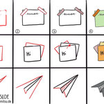 Bullet Journal und Sketchnotes - Doodles - How to draw - Malvorlage - Anleitung - Papier
