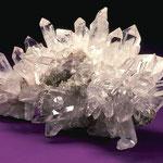 Das Mineral Silicea, der Bergkristall, hilft bei: Psychisch Unsicherheit  - Allgemein Kälteempfindlichkeit  - Körperlich Eiterungen