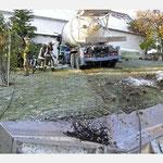 Unfallschaden - LKW rammt Haus