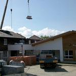 Umbau Dachstuhl