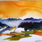 Im Chiemgau (Aquarell)