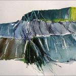 Klippe 2 (Aquarell)