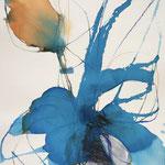 Florales Farbspiel 1 (Aquarell)