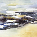 Dunkles Moor (Aquarell)