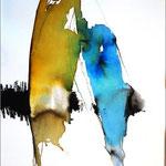 Begegnung (Aquarell)