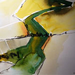 From high above 2 (Aquarell)
