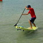 Freestyle Contest SUP Tour Schweiz in Luzern. Stefan Ulrich vom SUPoint erreicht 2. Platz.