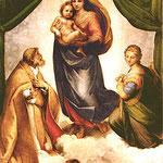 Maria, hier Sixtinische Madonna Dresden