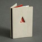 The Gold Box Book (1995) intaglio, hand coloring, unique, 3 x 2 inches