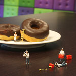 you never gain weight from a donut-hole