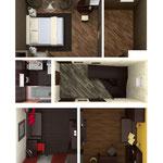 Объемный план (подарок при визуализации всей квартиры)