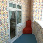 Балкон (выход с детской спальни)