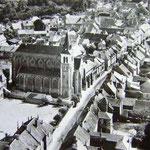 Traversée de Dammartin-en-Goëlle vers 1950