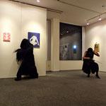 2013年2月12日、GalleryAPAにてオープイングパフォーマンス