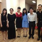 学生によるガラコンサート 出演者