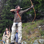 Klosters Madrisa-T.A.T. Weekend 2014-Bogenschiessen 3D