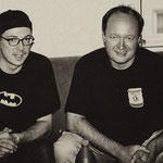 The Continentals 2001 / Mike Roth & Bernd Kühl at the Charisma Soundstudio Munich (DE) / Photo: The Continentals