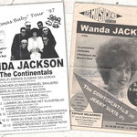 "The Continentals 1997 / ""Merry Christmas Baby Tour"" with Wanda Jackson in France, Germany, Belgium and Austria"