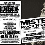The Continentals 1986 / Rockhouse Rock & Roll Meeting in s'Hertogenbosch (NL) and Mister Rock'n'Roll Festival in Forli (IT)