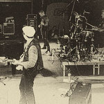 The Continentals & Frankie Ford 1996 / Live at the Vienna Donauinselfest / Stefan Reiser, Frankie Ford, Mani Wieder, Uli Stepken, Alfons Hefter, Massimiliano Brero / Photo: Klaus Kettner