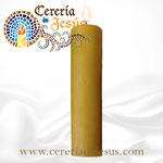Cirio clásico 7x30 cm 100% Cera de abeja