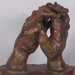 """Clasped Prayer"" - alternate view"