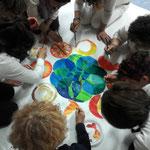 Mandala di gruppo - Mandala delle 8 energie