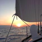 Barca a vela e meditazione