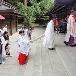 Hochzeit beim Meiji Schrein 2