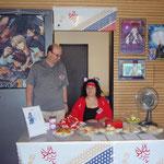 Die Mini-Snackbar:  Küchen-Firecat mit Chef der Con