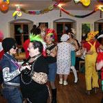 Die Tanzfläche war immer gut gefüllt.
