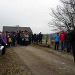 Viele Teilnehmer trotz kaltem Wetter