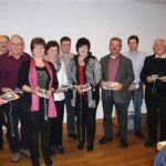 Mit einem Dankeschön bedacht wurde der Festausschuss für die Organisation des 750-jährigen Kirchenjubiläums.
