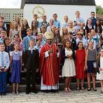 54 Firmlinge kamen aus der Pfarrgemeinde Waldmünchen mit Herzogau und Unterhütte.