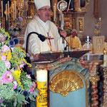 Bischof Rudolf Voderholzer bei der Predigt.