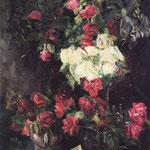 Stillleben mit roten Rosen, Beckmann