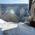Exterieur du gite de Tres Bayard location de vacances et week end - Saint Claude - Jura