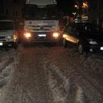 Traunsteins teuerster Parkplatz, im Jahr 2010 (dunkler Pkw)
