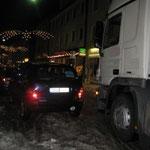 Traunsteins teuerster Parkplatz, im Jahr 2010