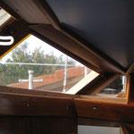 Fensterrahmen fertig gezimmert von Heiz