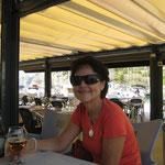 Mittagspause in Port Ginesta, wunderbar!