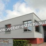 (2020) - Anbau Mehrzweckgebäude, Kath. Altenpflegeheim St. Josef, 37339 Breitenworbis - Zementestrich als schwimmender Estrich, Zementestrich als Heizestrich, Polystyrol-Hartschaumplatten
