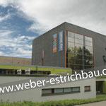 (2013) - Uni Göttingen Sportzentrum, 37075 Göttingen - Zementestrich als Heizestrich, Zulage Estrichmittel, Zementestrich auf Trennschicht, Abdichtung, Schnellestrich