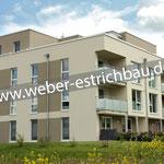 (2019) - Neubau Mehrfamilienhaus, 37327 Leinefelde - Wärmedämmung, Randstreifen, schwimmender Zementestrich