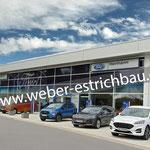 (2018) Anbau Autohaus, 37574 Einbeck - Zementestrich als schwimmender Estrich, Wärmedämmung